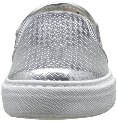 victoria Slip on Tej Trenza Metalizado, Damen Sneaker Argent (14 Plata)