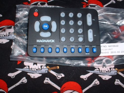DVD Combo Remote Control NH100UD Supplied with models: 42MD459B 42MD459B/F7 ()