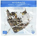 TWO LEAVES AND A BUD Organic Hydrate Tea 15 Bag, 0.02 Pound For Sale