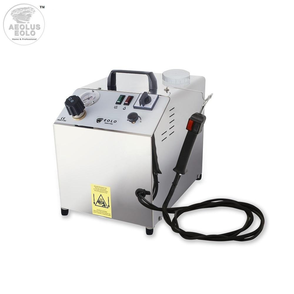 EOLO Professional steam generator for cleaning, sanitizing. Automatic refilling LP02SRA 230 Volts on request 110-120 Volts)