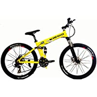 G4 Challenge Land Rover Folding Bicycle - Yellow 26 Inch