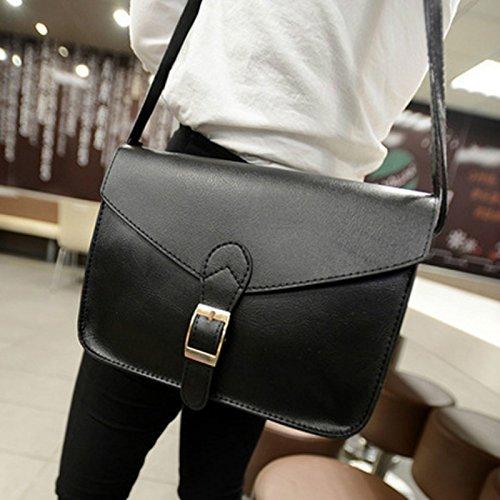 Ziaxa(TM) Dupplies preppy style Women leather handbag pu women messenger bag envelope female briefcase Candy color crossbody shoulder bag
