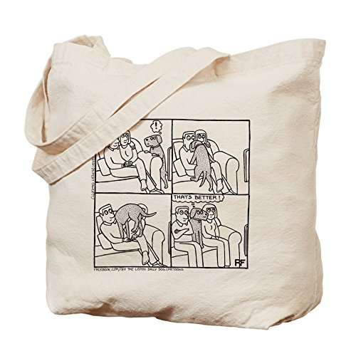 CafePress–en el sofá–�?gamuza de bolsa de lona bolsa, bolsa de la compra