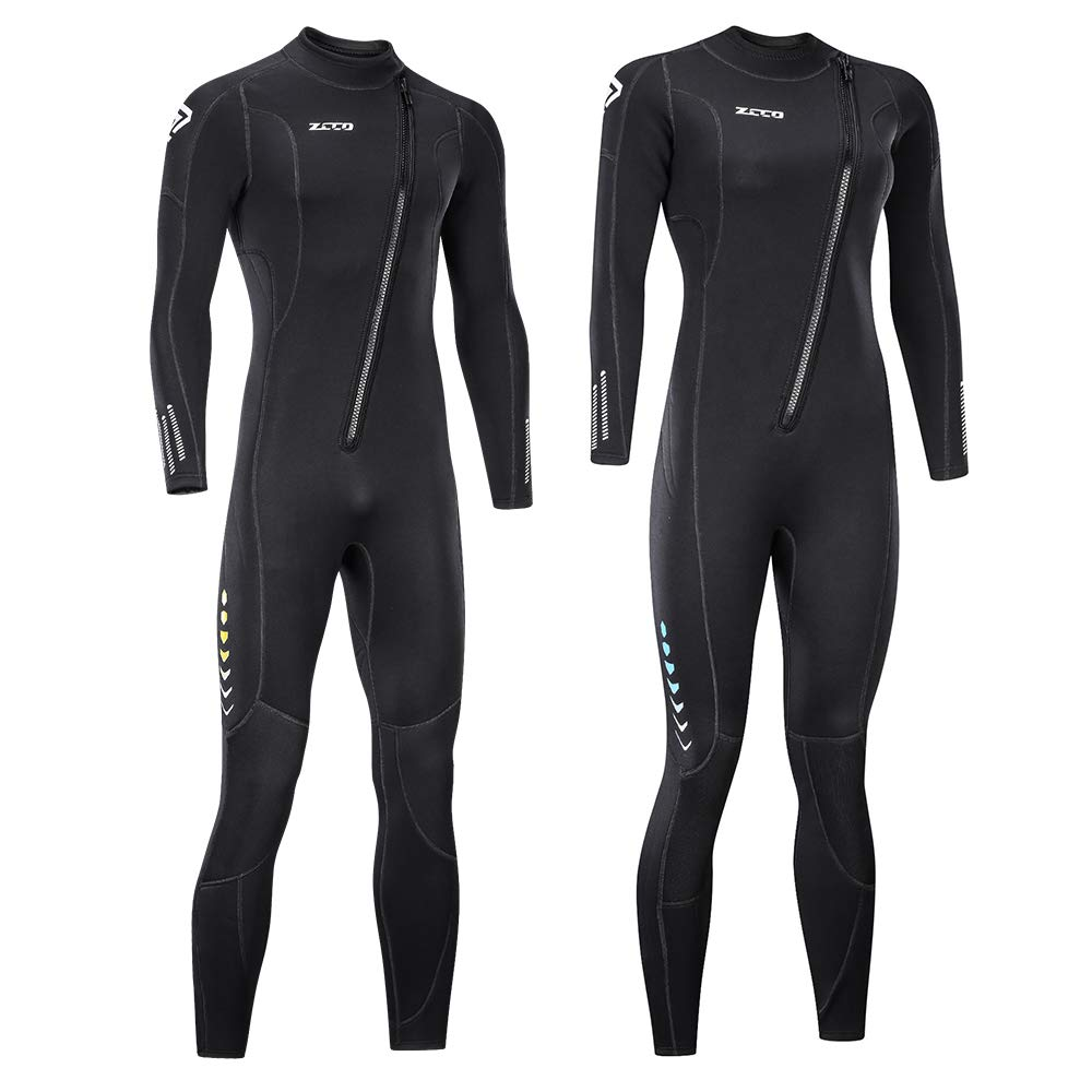 ZCCO Full Body Diving Suit for Men and Women (Men's XX-Large) by ZCCO