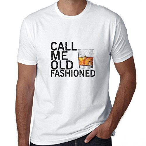 Hollywood Thread Call Me Old fashioned - Scotch Whiskey Glass Drink Men's - Scotch Whiskey Drink