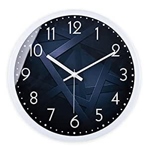 Wall Clock Werlm Stylish Simple Bedroom Living Room Living Room Clock Quartz Clock