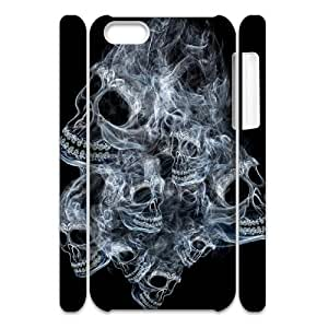 LJF phone case Ghost Customized 3D Cover Case for iphone 4/4s,custom phone case ygtg547908