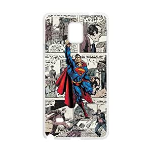 Samsung Galaxy Note 4 Cell Phone Case White Superman JSK629449