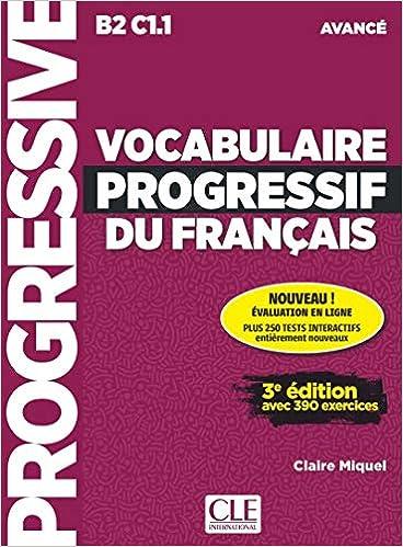 Amazon Fr Vocabulaire Progressif Du Francais Niveau