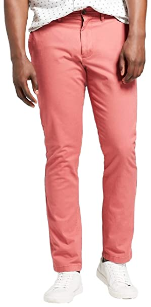 60545b0be01c Goodfellow & Co. Men's Athletic Fit Hennepin Chino Pants at Amazon Men's  Clothing store: