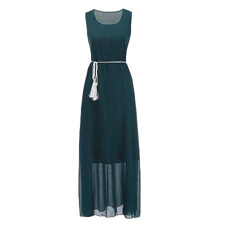 Go First Señoras Vestido De Moda De Verano Cómodo Transpirable De ...