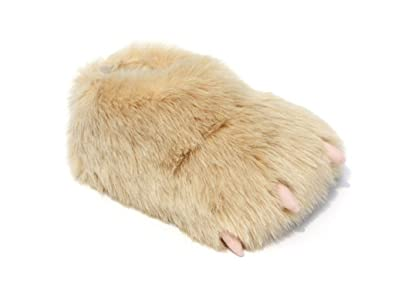 134dda8791a Monster Slippers Men s   Women s Novelty Yeti Claw Animal Slippers 1.5 ...