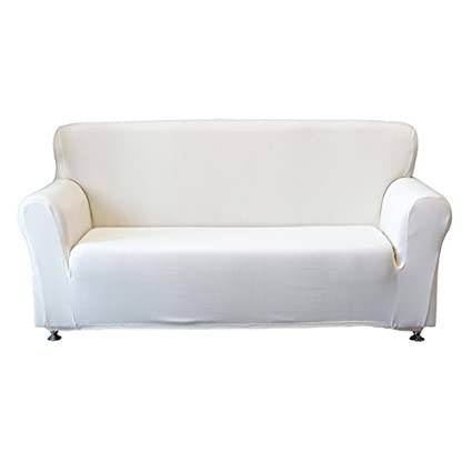 Wenyuji Microfiber Sofa Covers 1 Piece Polyester Spandex Fabric Stretch  Slipcovers?