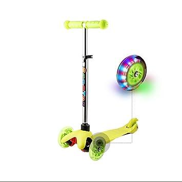Ancheer – Patinete de 3 ruedas, ideal como regalo para niños ...