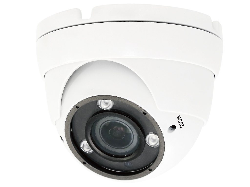 HDView (Business Series) 2.4MP 4-in-1 HD (TVI/AHD/CVI/960H) 2.8-12mm Vari-Focal Lens 1080P Outdoor Super Matrix IR SONY Sensor EXIR Turbo Platinum Dome Camera