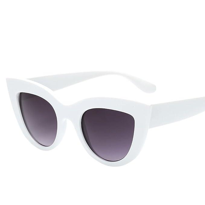 Amazon.com: OUBAO Gafas de sol retro vintage Gafas de sol ...