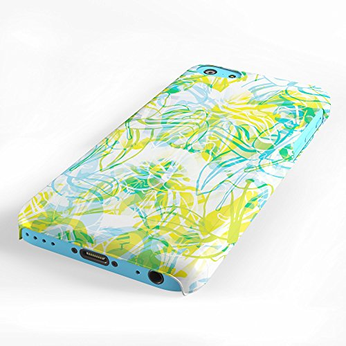 Koveru Back Cover Case for Apple iPhone 5C - Tropical Flowers
