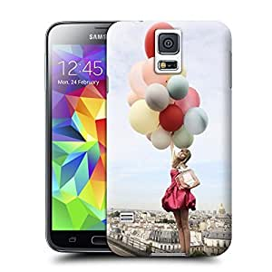 Unique Phone Case Watercolor girl#11 Hard Cover for samsung galaxy s5 cases-buythecase