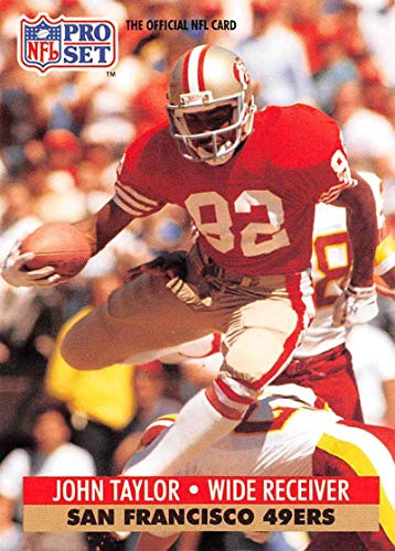 1991 Pro Set Football Card #295 John Taylor San Francisco 49ers Official NFL Trading Card
