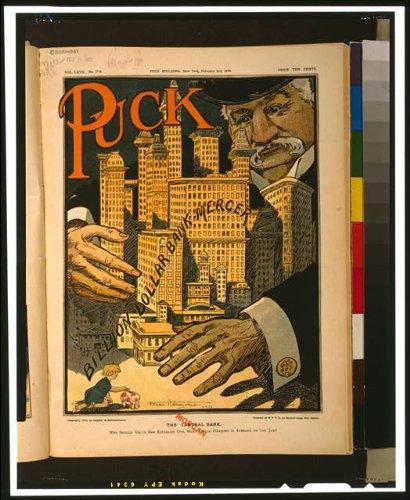 HistoricalFindings Photo: Central Bank,Uncle Sam,John P. Morgan, York,NY,Capitalism,Billion Dollar,1910