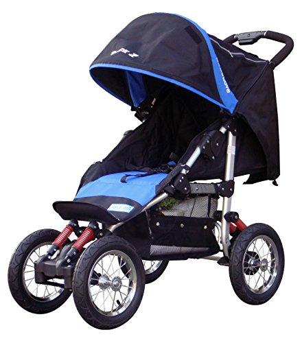 BEBELOVE-Deluxe-Jogging-Stroller-Blue