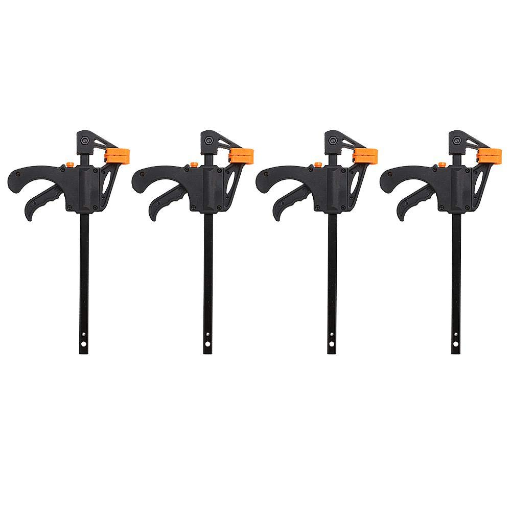 Asixx Sargentos Monomanuales, Conjunto de 4 Sargentos Monomanuales, para Utilizar En La Fabricació n de Muebles Y La Industria del Embalaje para Utilizar En La Fabricación de Muebles Y La Industria del Embalaje