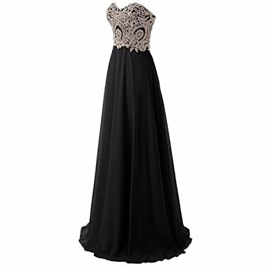 Lace Appliques Sweetheart Chiffon Bridesmaid Dress For Evening Party Size 14 18 Plus Size