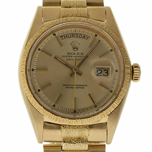 Rolex Mens President Watch (Rolex Day-Date swiss-automatic mens Watch 1807 (Certified Pre-owned))