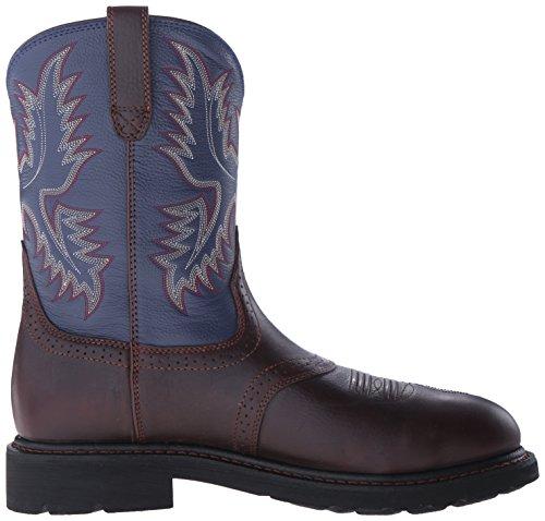 Ariat Mens Sierra Saddle Steel Toe Work Boot Redwood/ Indigo Blue jdIxOR