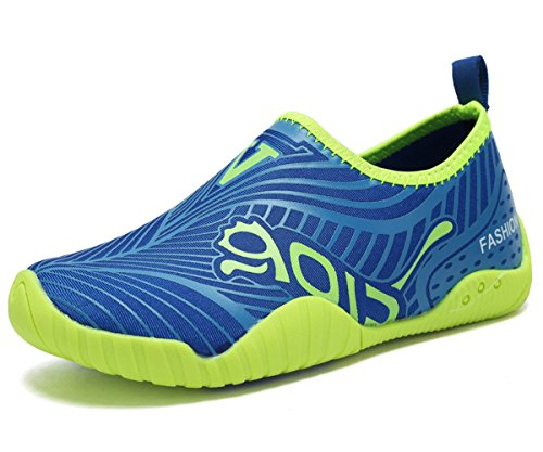 CIOR Kids Water Shoes Quick-Dry Boys and Girls Slip-On Aqua Beach Sneakers (Toddler/Little Kid/Big (Kids Beach Shoe)