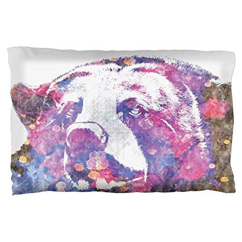 Spirit Bear Splatter Pillow Case Multi Standard One Size]()
