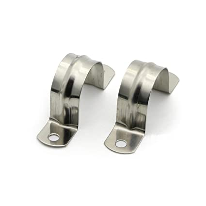 Just 10 X Stainless Steel Tube Clips Stainless Saddles 25mm Tube Electrical Saddles Other Home Improvement