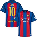 Barcelona Home Messi Jersey 2016 / 2017 (Official Printing) - M