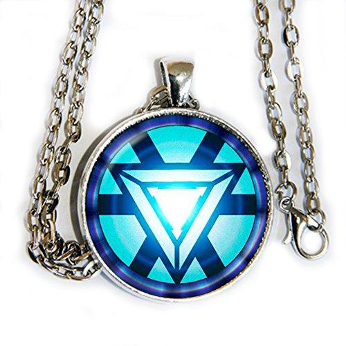 Iron Man Arc Reactor pendant necklace - - Arc Justice Design