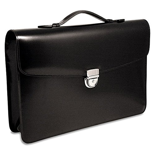 Jack Georges The Elements Collection Slim Flap Over Black ()