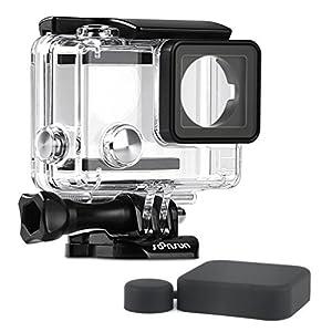 SOONSUN Waterproof Dive Housing Case GoPro Hero 4/3+ / 3 Black Silver Cameras