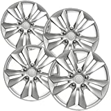 17 inch Snap On Wheel Covers Motorup America Auto Hubcap Set of 4 Fits 10-12 Ford Fusion