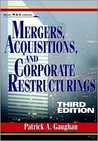 Read Mergers,Acquisitions,and Corporate Restructurings,3rd (Third) edition: 3rd (Third) edition PDF, azw (Kindle), ePub, doc, mobi