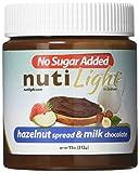 #6: Nutilight - No Sugar Added - Hazelnut Spread & Milk Chocolate - 11 oz Jar