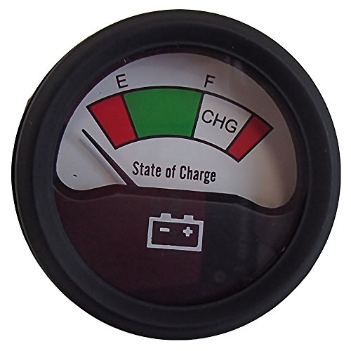 Battery Condition Analog State Charge Meter 48 Volt Gauge for E-Z-GO Club Car