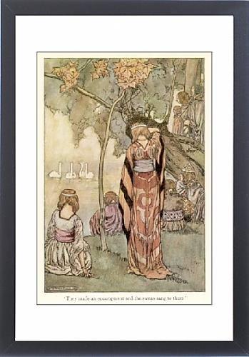 Framed Print Of Myth/ireland/bov s Court