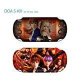 Skin Decal Sticker For PS VITA 1000 Series Pop Skin-Dead Or Alive #01+Screen Protector+Offer Wallpaper Image