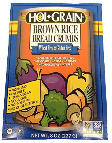 HOL GRAIN BREADCRUMB BRWN RICE, 8 OZ (Brown Rice Bread Crumbs compare prices)