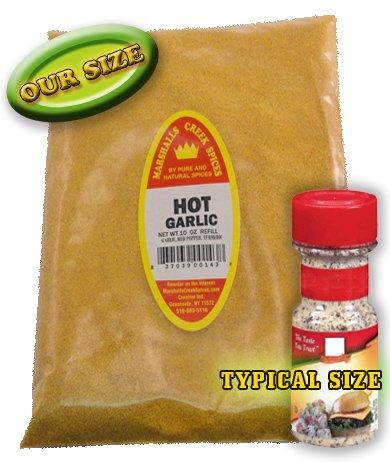 Marshalls Creek Spices Hot Garlic Seasoning Refill, 10 Ounce