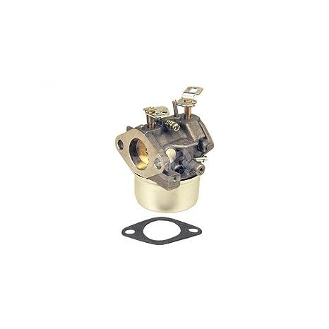 Carburador Tecumseh reemplaza 640349, 640052, 640054. Incluye junta de montaje