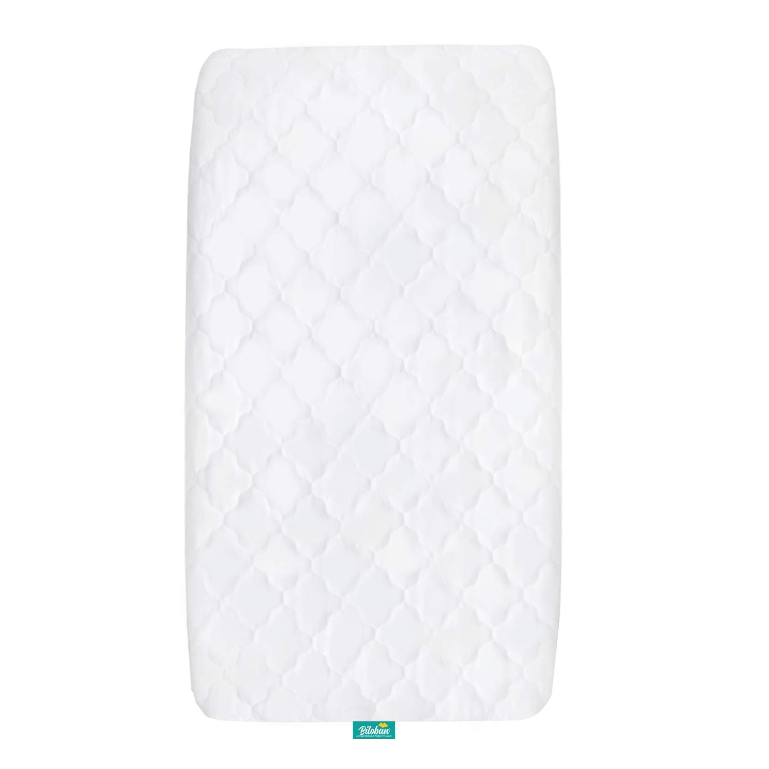 """Cradle Mattress Pad Cover for 36"""" × 18"""" Standard Cradle Mattress, Ultra Soft Microfiber Surface and Extra Waterproof Layer, Washer & Dryer Friendly"""