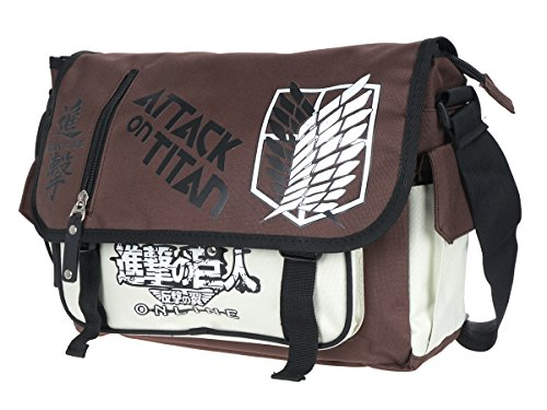 white brown messanger Titan Attack bag CoolChange on UCwpYqUg