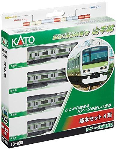 Series E231-500 Yamanote Line (Basic 4-Car Set) (Model Train) by - Train Jr