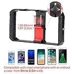ULANZI U Rig Pro Smartphone Video Rig, Filmmaking Case, Phone Video Stabilizer Grip Tripod Mount for Videomaker Film-Maker Video-grapher for iPhone Xs XS Max XR iPhone X 8 Plus Samsung 6