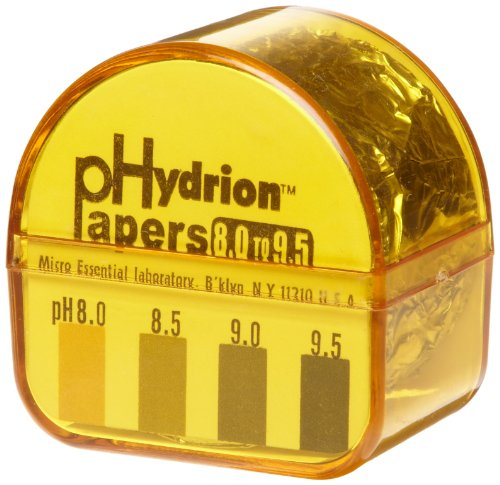 Micro Essential Lab 458 Hydrion Short Range pH Paper Refi...